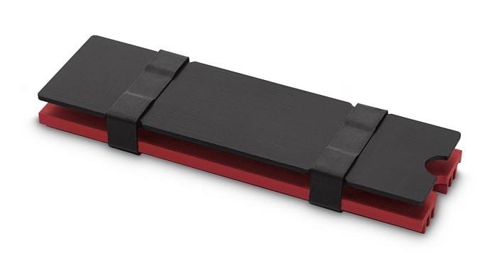 SSD hűtő EK Water Blocks EK-M.2 NVMe hűtőborda Piros (3830046991751)