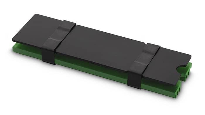 SSD hűtő EK Water Blocks EK-M.2 NVMe hűtőborda Zöld (3830046994752)