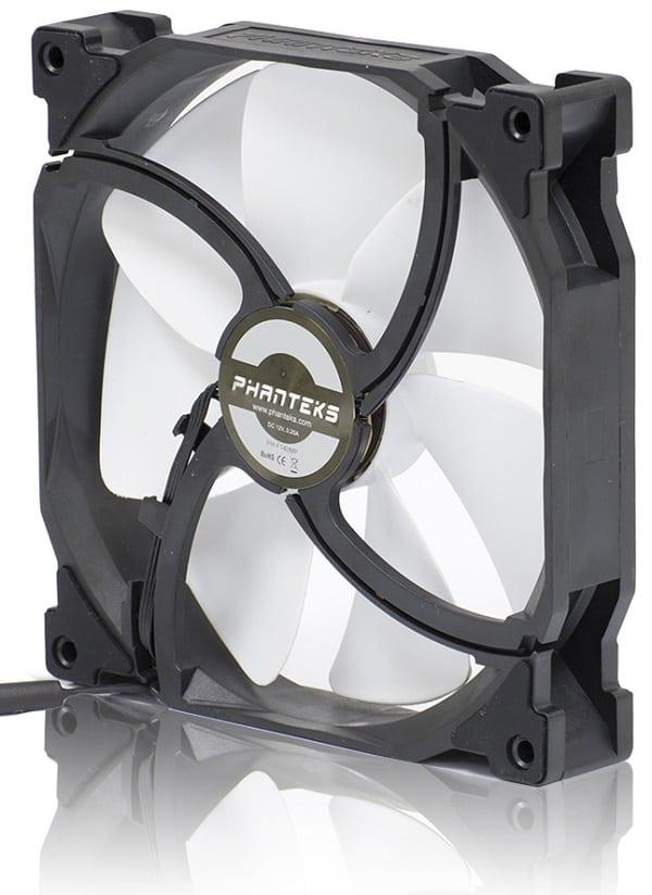 Ventilátor PHANTEKS PH-F120MP 12cm Fekete/Fehér (PH-F120MP_BK)