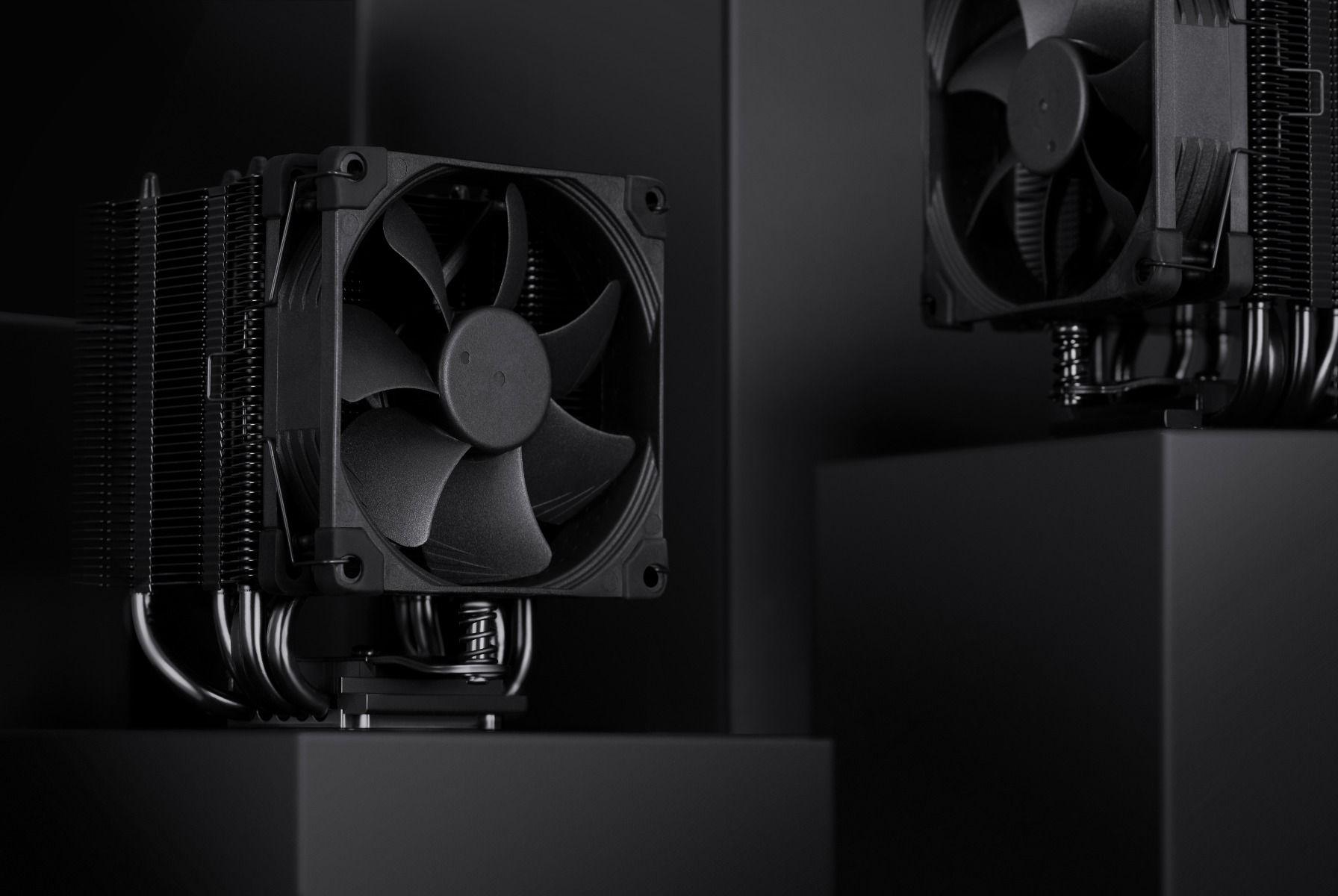 Processzor hűtő Noctua NH-U9S chromax.black 9cm Univerzális (NH-U9S CH.BK)