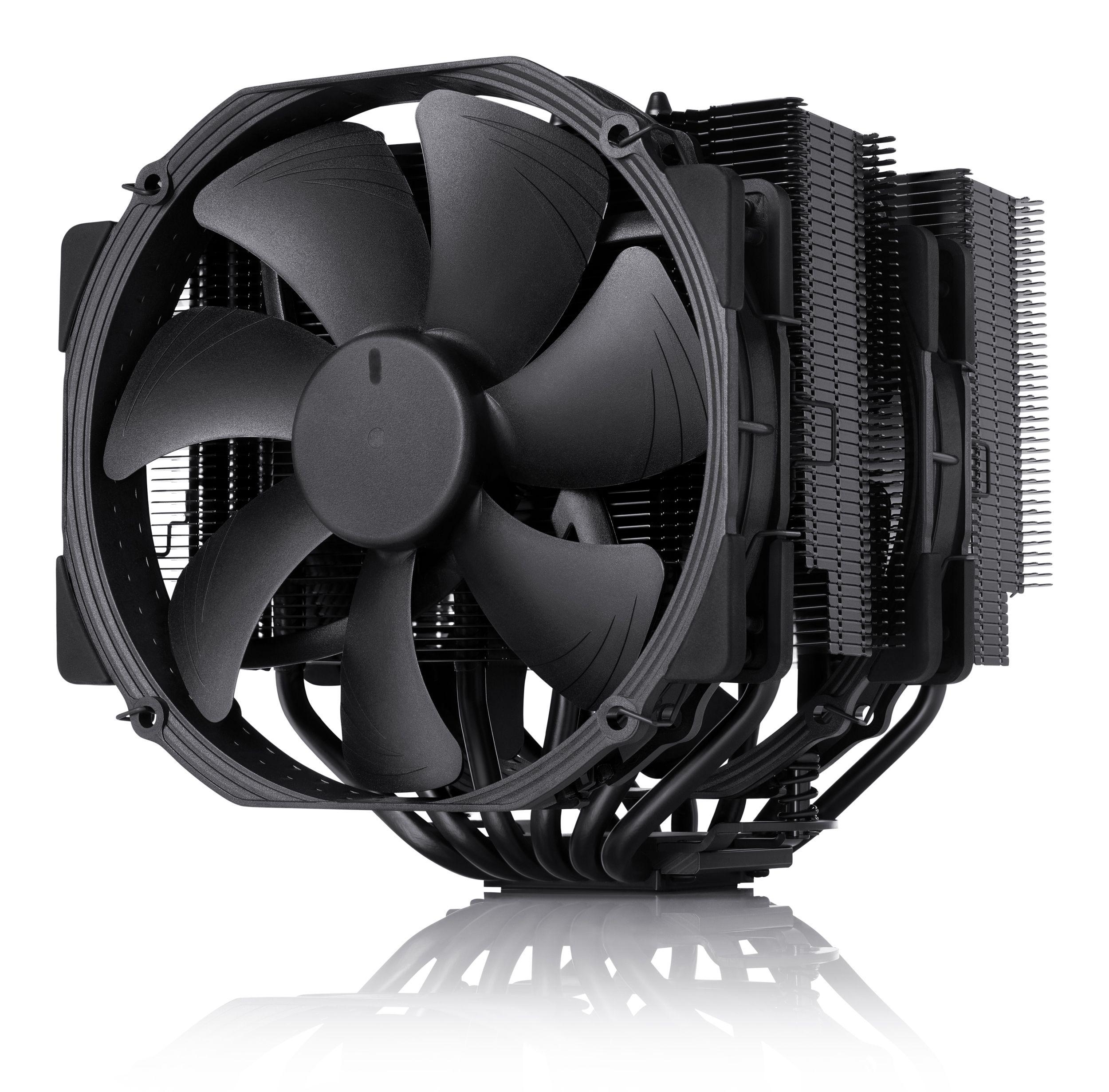 Processzor hűtő Noctua NH-D15S chromax.black 14cm Univerzális (NH-D15S CH.BK)