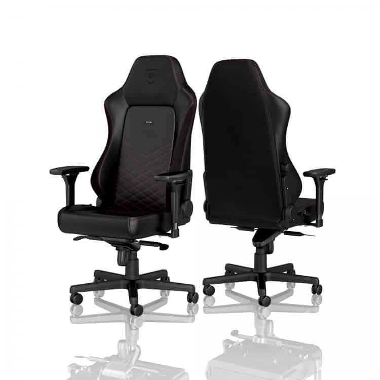 Gamer szék noblechairs HERO PU Bőr Fekete/Piros (NBL-HRO-PU-BRD)