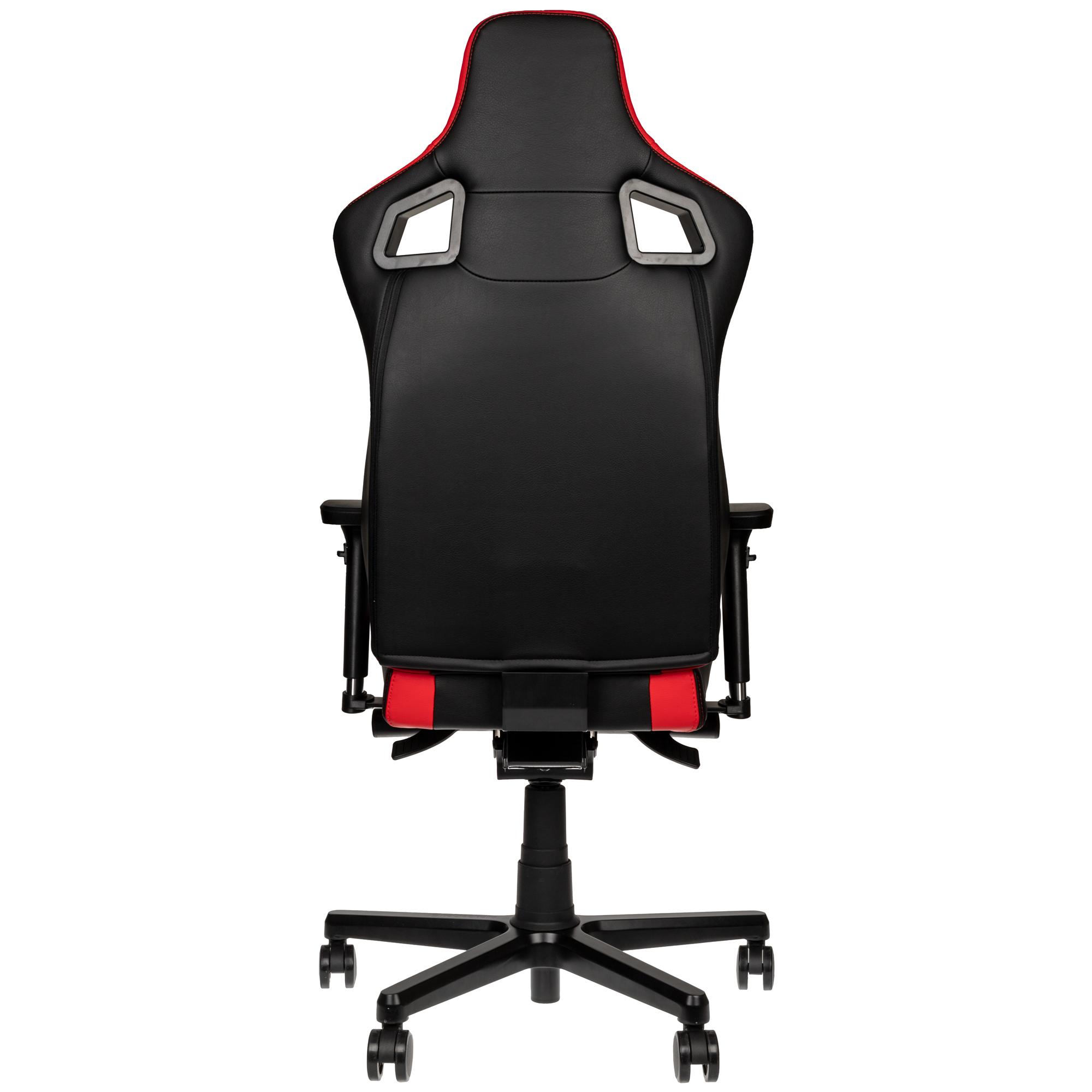 Gamer szék noblechairs EPIC Compact Fekete/Carbon/Piros (NBL-ECC-PU-RED)