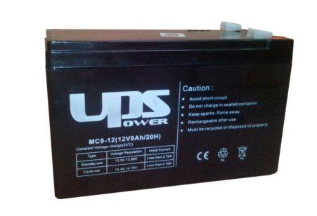 Ólomakkumulátor Ritar 12V/9.0Ah (7.2-es méret / széles saru) (HR12-38W-F2)