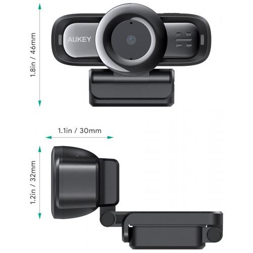Webkamera Aukey LM3 1920x1080 USB 2.0 Autófókusz