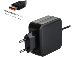Akyga AK-ND-59 20V/2.0A 40W LENOVO POWER USB Lenovo notebook töltõ adapter