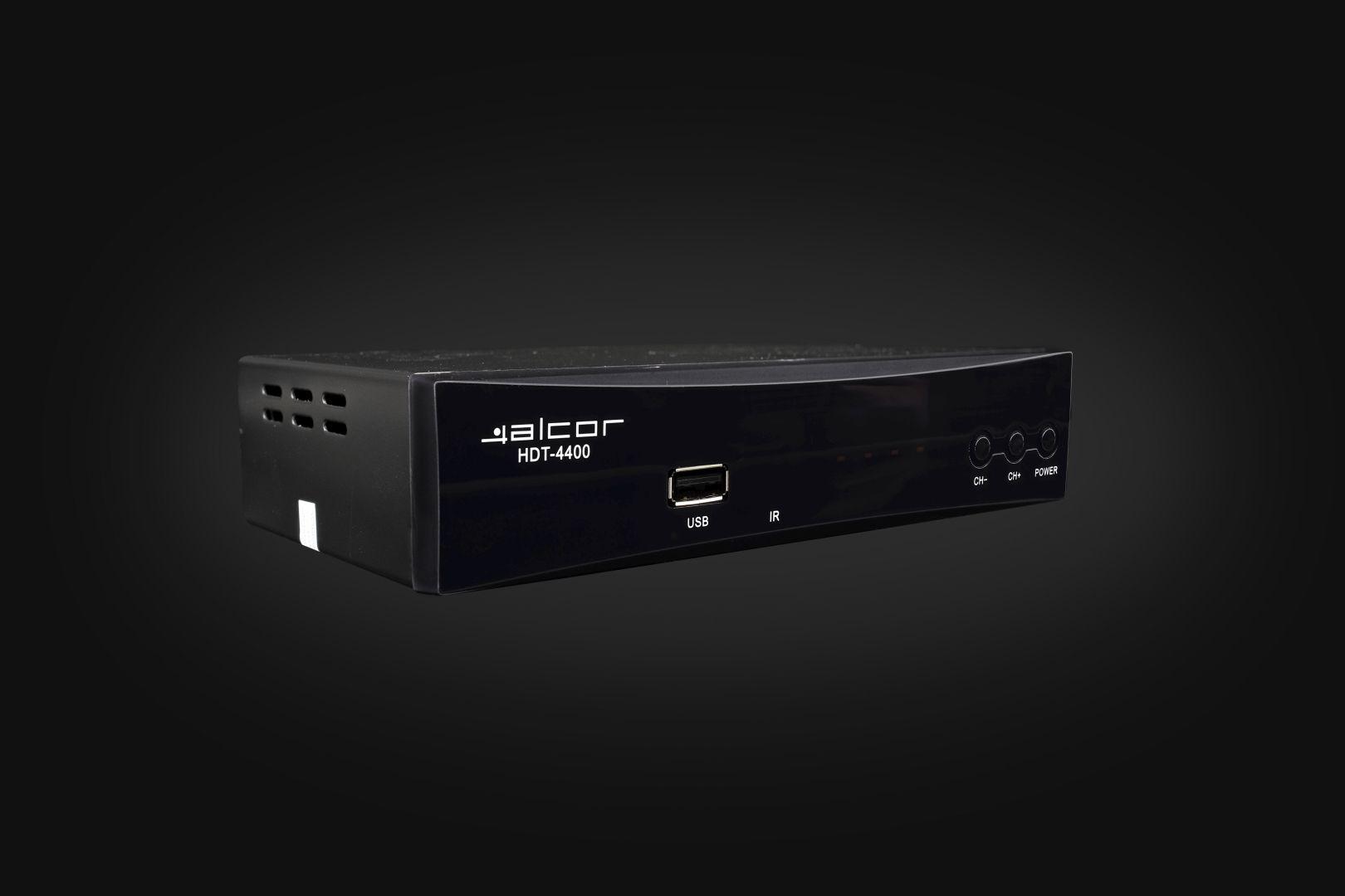 Alcor HDT-4400S Set Top Box  (HDT-4400S)