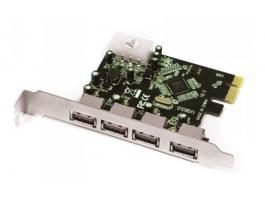 APPROX APPPCIE4P 4 port USB3.0 PCI-E kártya