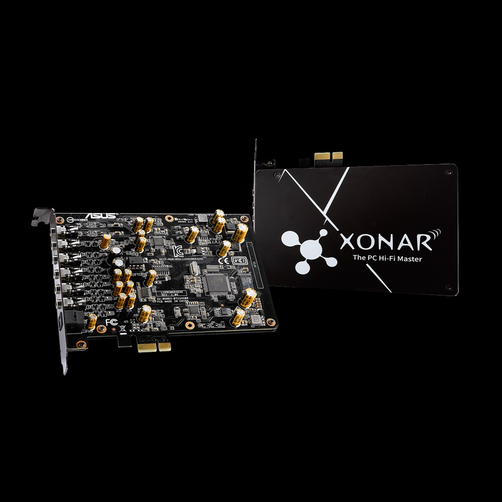 Asus XONAR AE 7.1 PCIe Hangkártya (90YA00P0-M0UA00)