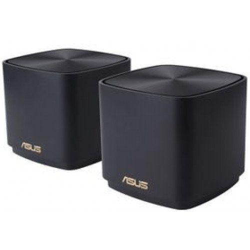 Asus ZenWiFi AX Mini (XD4) AX1800 Black (2 pack) (XD4 2-PK BLACK)