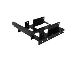 AXAGON RHD-P35 Bracket to PCI slot metal for 2x2,5 Black