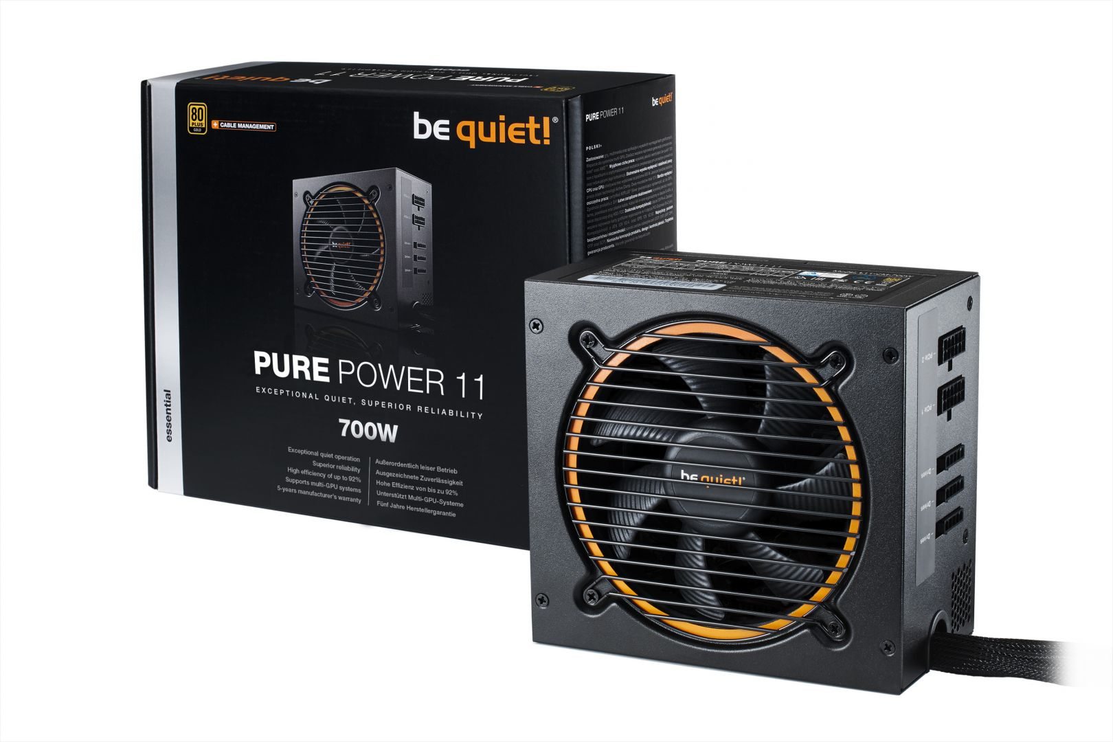 Be quiet! 700W Pure Power 11 80+ Gold (BN299)