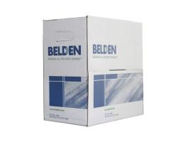 Belden Cat5e UTP fali kábel, 100MHz, PVC, szürke, réz, 100m
