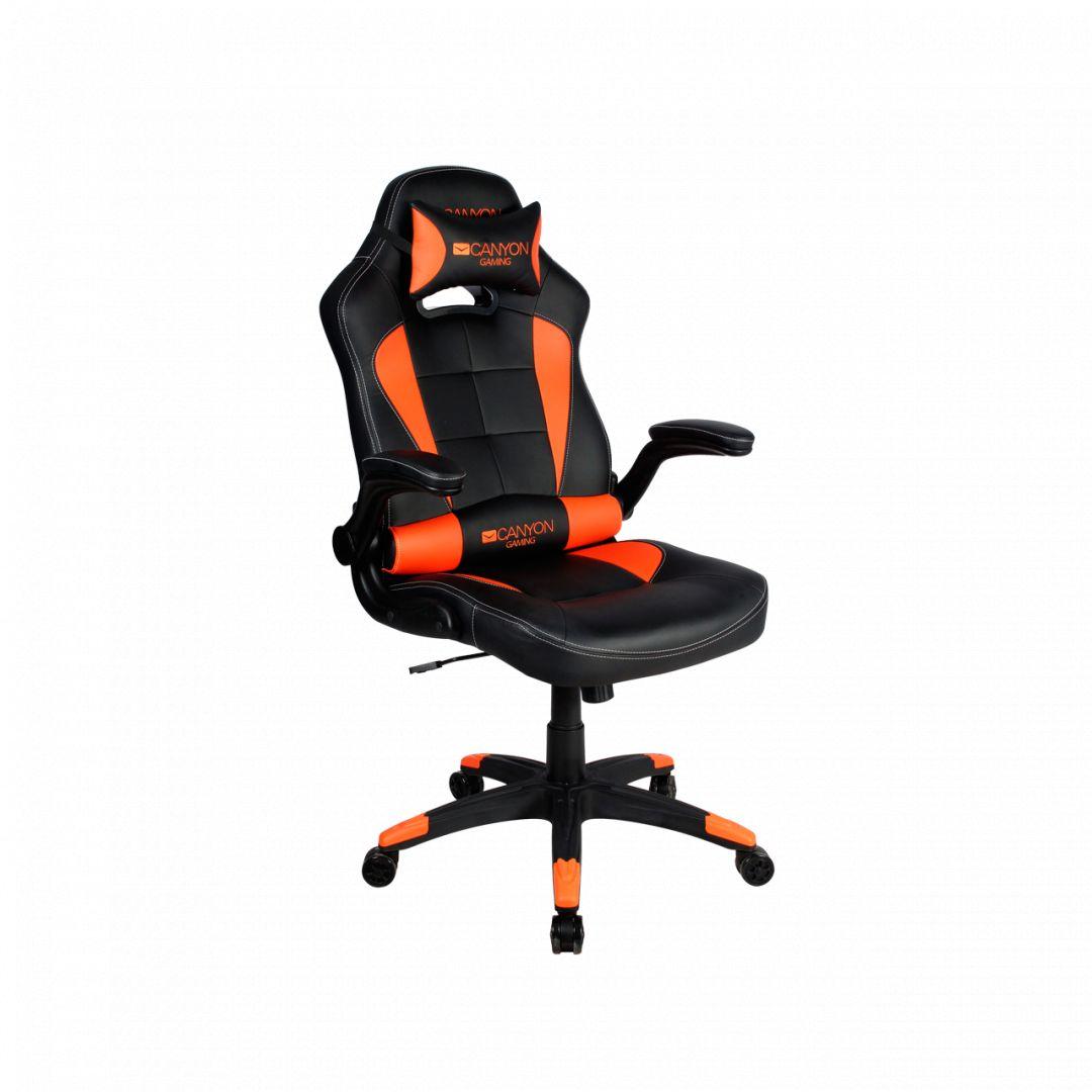 Canyon Vigil Gaming Chair Black/Orange (CND-SGCH2)