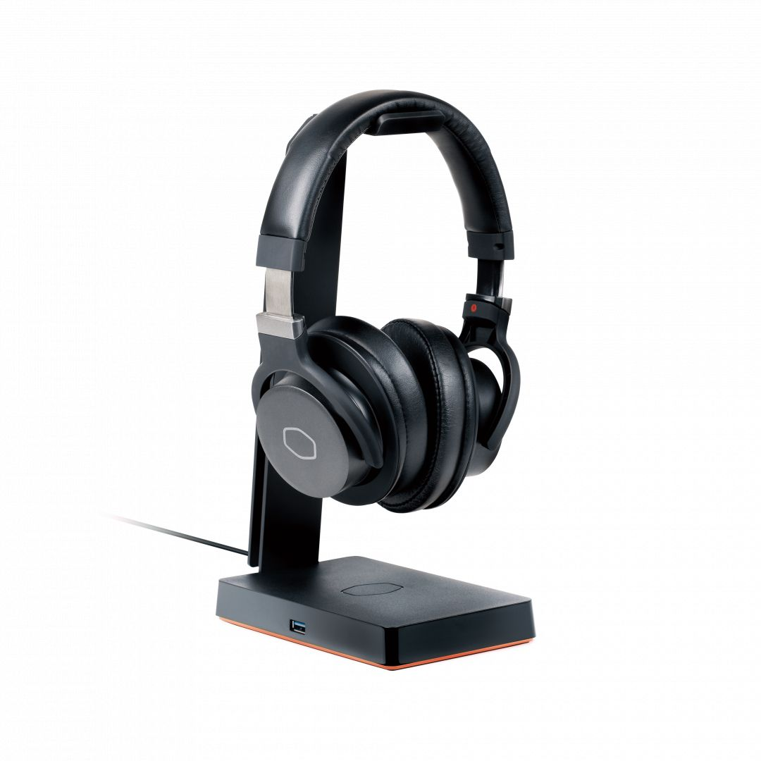 Cooler Master GS750 Qi Wireless Charging Base and headset stand Black (MPA-GS750-00-C1)