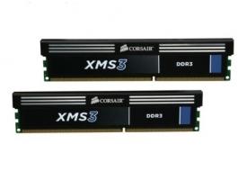 Corsair 8GB Kit 2x4GB 1333MHz 9-9-9-24 CMX8GX3M2A1333C9 DDR3 memória