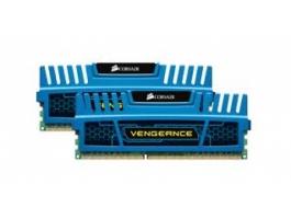 Corsair Vengeance 8GB Kit 2x4GB 1600MHz 9-9-9-24 CMZ8GX3M2A1600C9B DDR3 memória