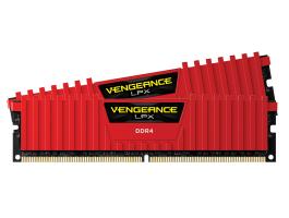 Corsair Vengeance LPX Red 16GB (2x8GB) 3200MHz DDR4 CL16 1.35V memória (CMK16GX4M2B3200C16R)