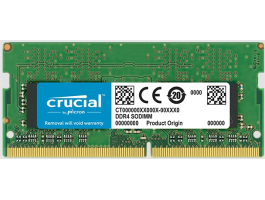 Crucial 4G/2400 CL17 Crucial Single Rank DDR4 notebook memória (CT4G4SFS824A)