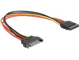 Delock SATA táp hosszabbító 30cm kábel (60131)