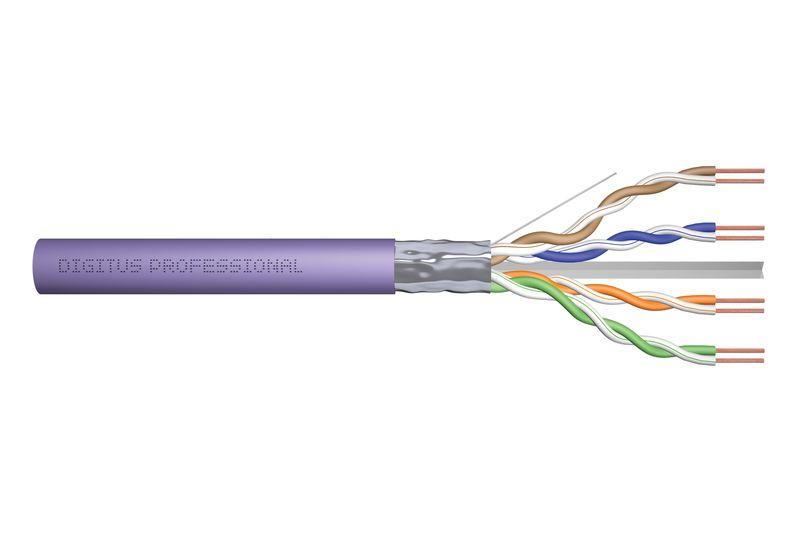 Digitus CAT6 F-UTP Installation cable 100m Purple (DK-1623-VH-1)