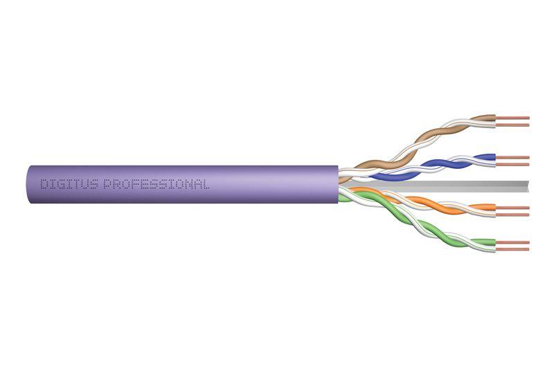 Digitus CAT6 U-UTP Installation cable 305m Purple (DK-1613-VH-305)