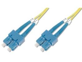 Digitus duplex SM 9/125 SC / SC 3m üvegszálas optikai patch kábel (DK-2922-03)