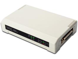 Digitus printserver 10/100Mbps 2xUSB2.0 + 1xLPT (DN-13006-1)