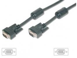Equip 118814 VGA kábel HD15 apa/apa 10m