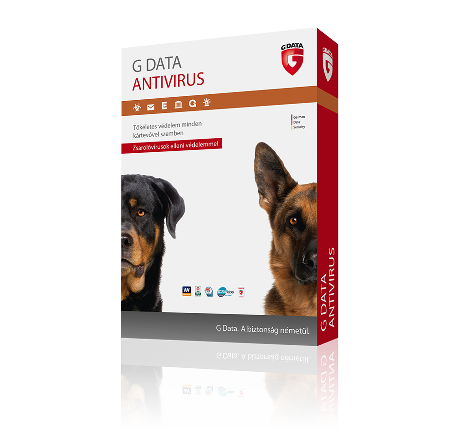 G Data Antivírus 5 felhasználó 1 év online hosszabbítás HUN (C1001RNW12005)