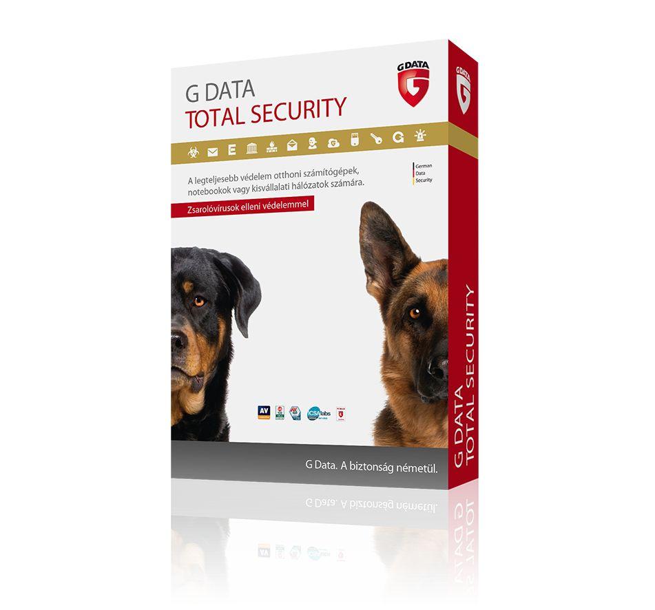 G Data Total Security 3 felhasználó 1 év online HUN (C1003ESD12003)