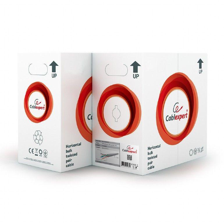 Gembird UPC-5004E-SOL CAT5e UTP LAN cable 305m Grey (UPC-5004E-SOL)