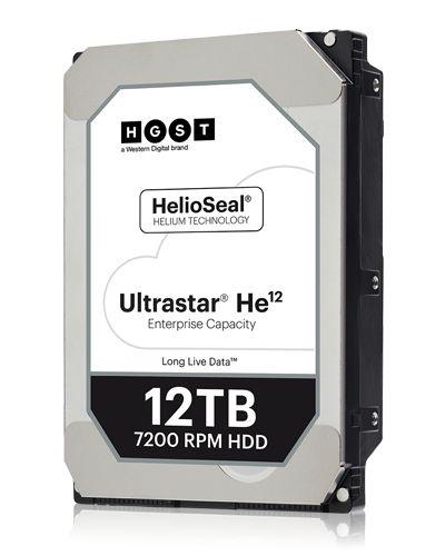 Hitachi 12TB 7200rpm SATA-600 256MB HUH721212ALE600 (HUH721212ALE600 / 0F30144)