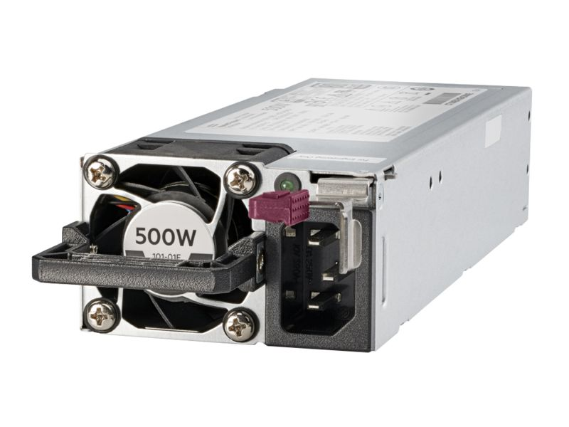 HP 500W Flex Slot Platinum Hot Plug Low Halogen Power Supply Kit (865408-B21)
