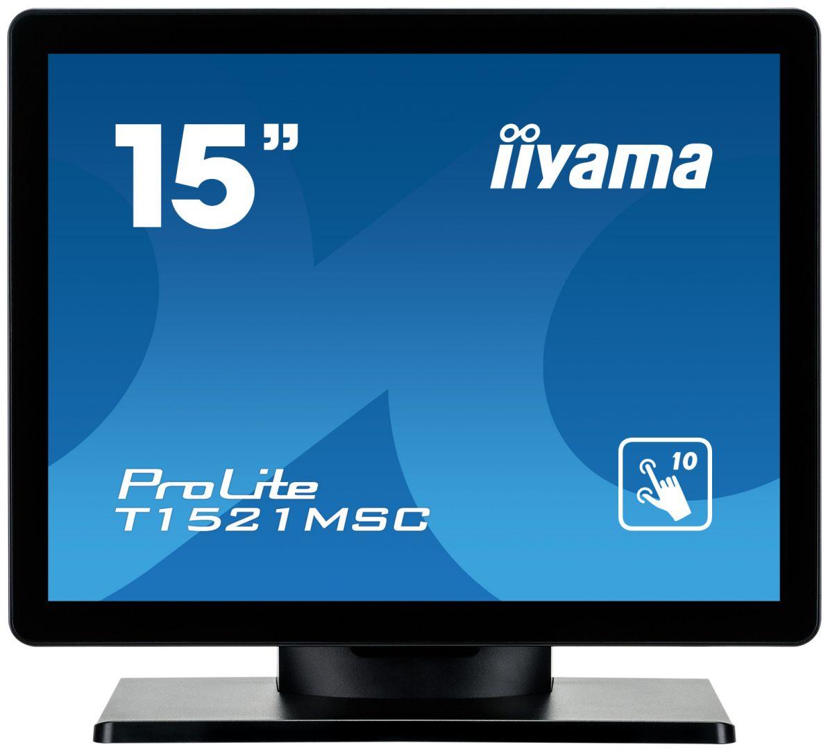 iiyama 15 ProLite T1521MSC-B1 LED (T1521MSC-B1)