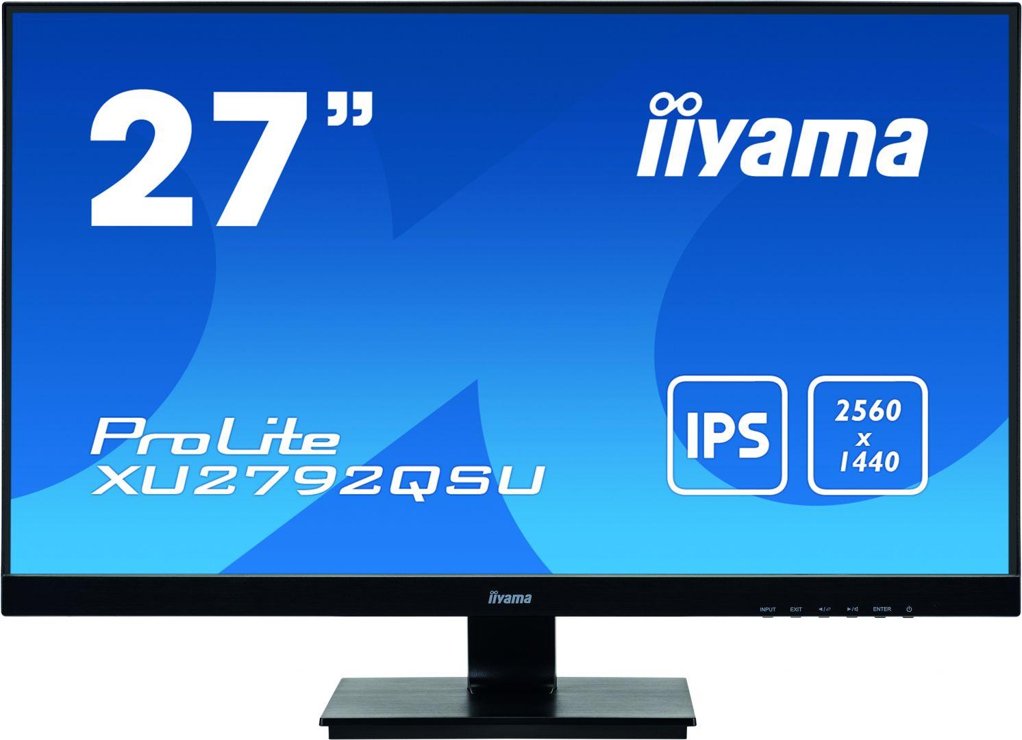 iiyama 27 ProLite XU2792QSU-B1 IPS LED (XU2792QSU-B1)