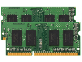 Kingston 16GB DDR3 1600MHz Kit(2x8GB) notebook memória (KVR16LS11K2/16)