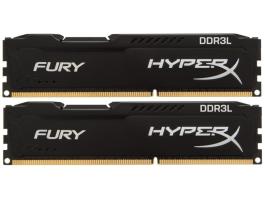 Kingston 16GB/1866MHz DDR3 (Kit 2db 8GB) HyperX FURY fekete LoVo (HX318LC11FBK2/16) memória
