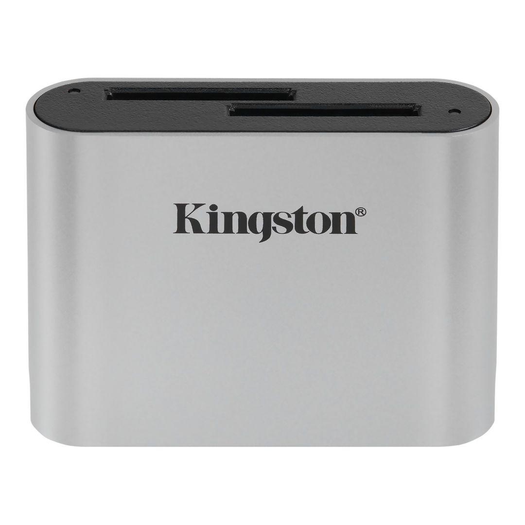 Kingston Workflow SD USB 3.2 UHS-II Reader Silver (WFS-SD)