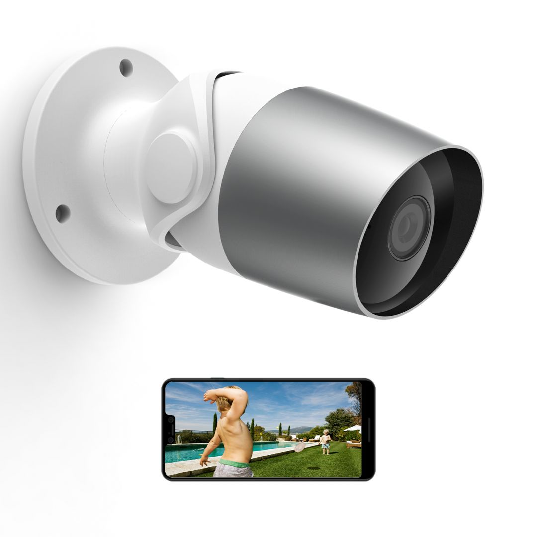Laxihub O1 Outdoor Weather-Proof Wi-Fi Bullet Camera  (O1)