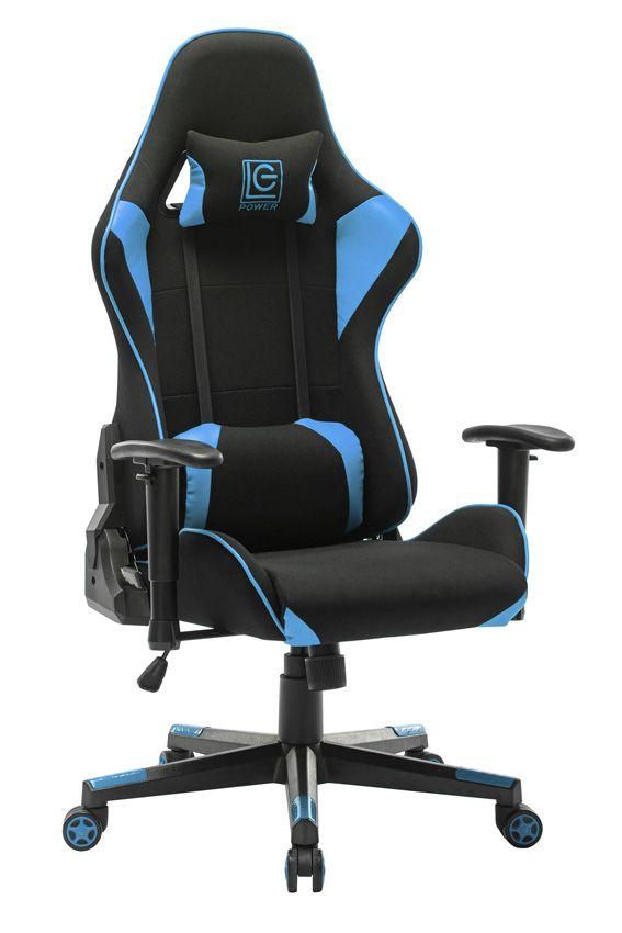 LC Power  LC-GC-703BB Gaming Chair Black/Blue (LC-GC-703BB)