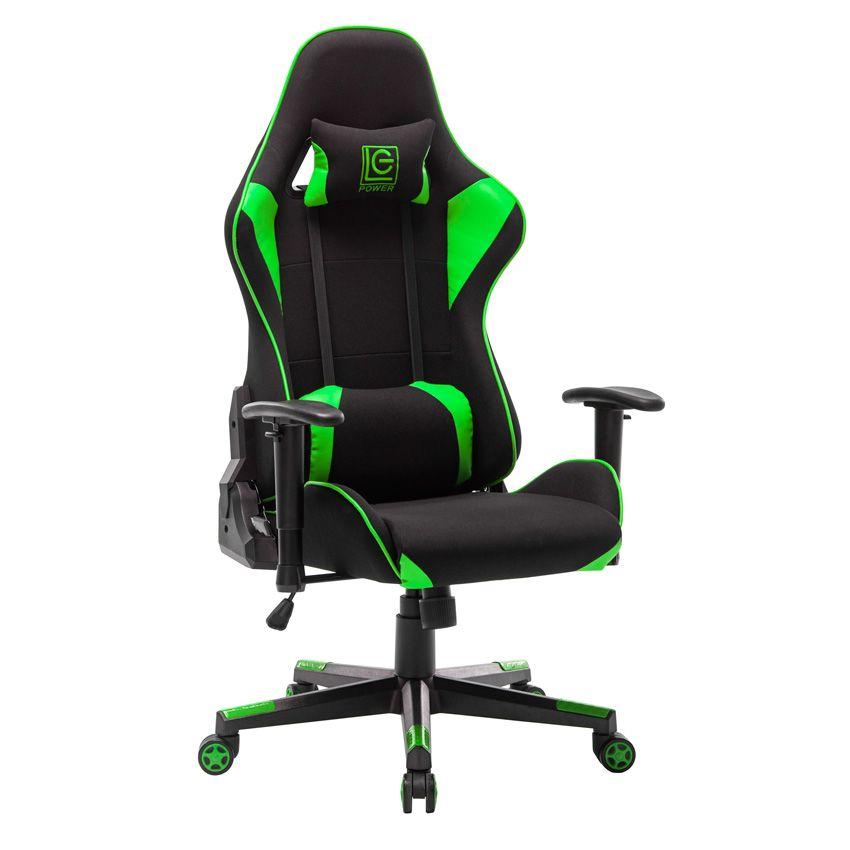 LC Power LC-GC-703BG Gaming Chair Black/Green (LC-GC-703BG)