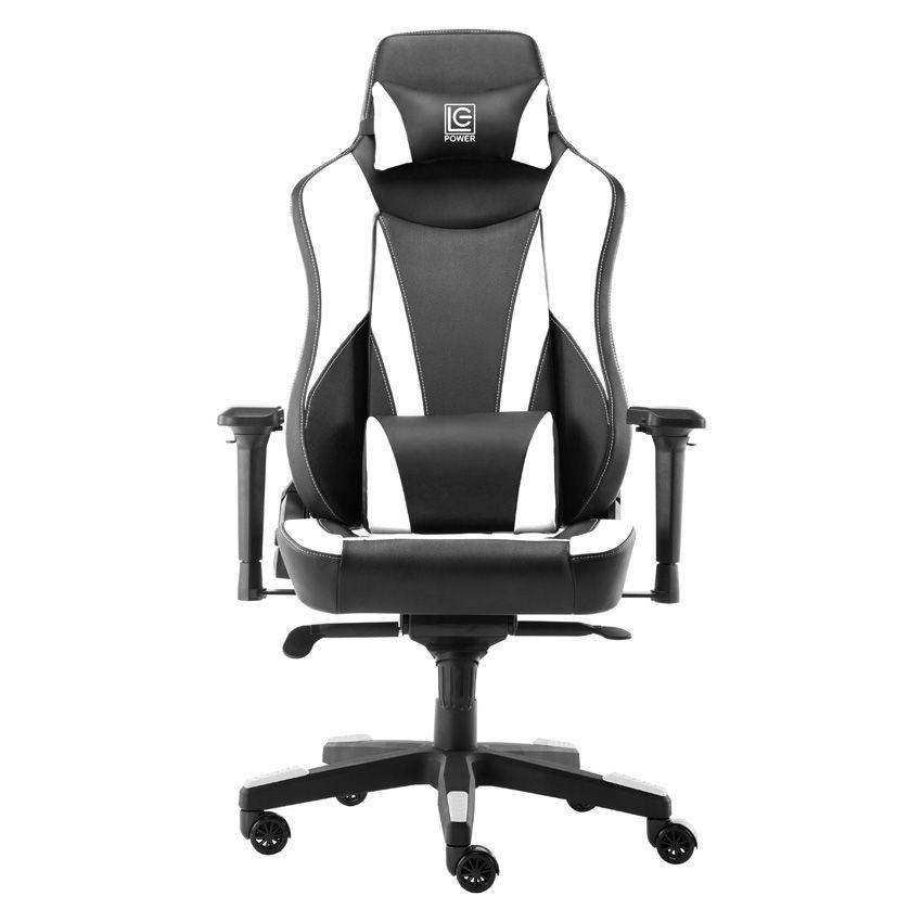 LC Power LC-GC-703BW Gaming Chair Black/White (LC-GC-703BW)