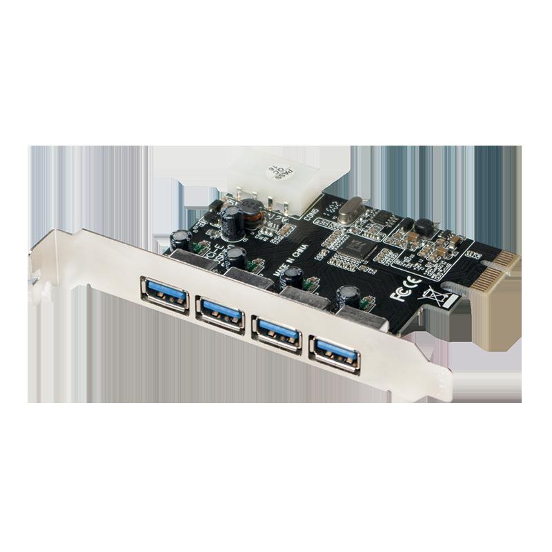 Logilink PC0057A 4ports USB3.0 Hub PCI-E (PC0057A)
