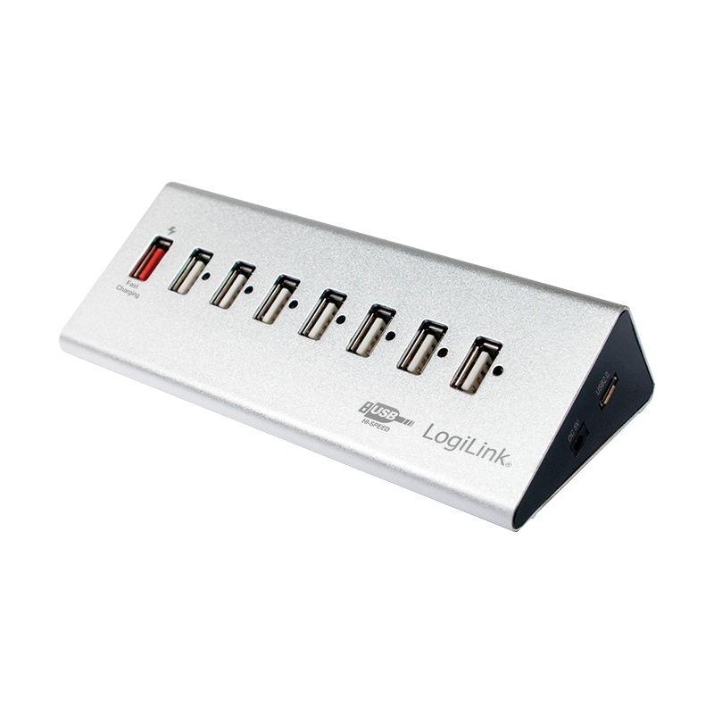 Logilink USB2.0 High Speed Hub 7-Port + 1x Fast Charging Port (UA0225)