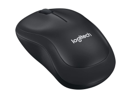 Logitech B220 Wireless Optikai Silent Fekete egér (910-004881)