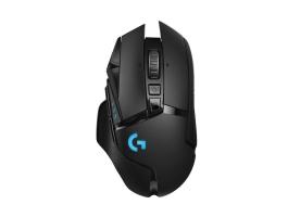 Logitech G502 Lightspeed vezeték nélküli fekete gamer egér (910-005567)