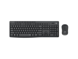 Logitech MK295 Silent wireless keyboard +mouse Grafit Grey HU (920-009806)