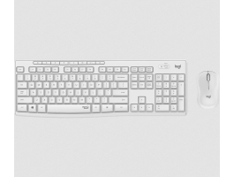 Logitech MK295 Silent wireless keyboard +mouse White HU (920-009873)