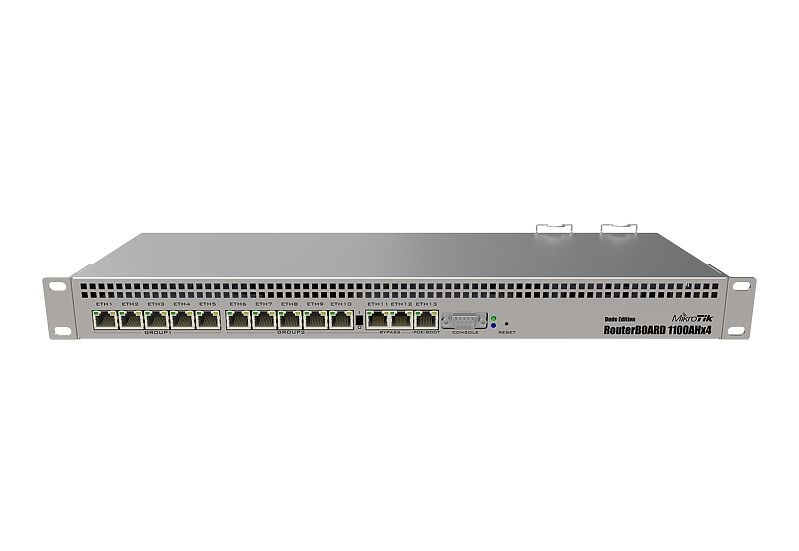 Mikrotik RouterBoard RB1100DX4 Dude Edition Router (RB1100DX4)